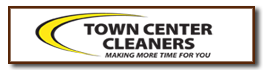 Town Center Cleaners Logo